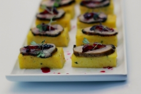 Meat canape