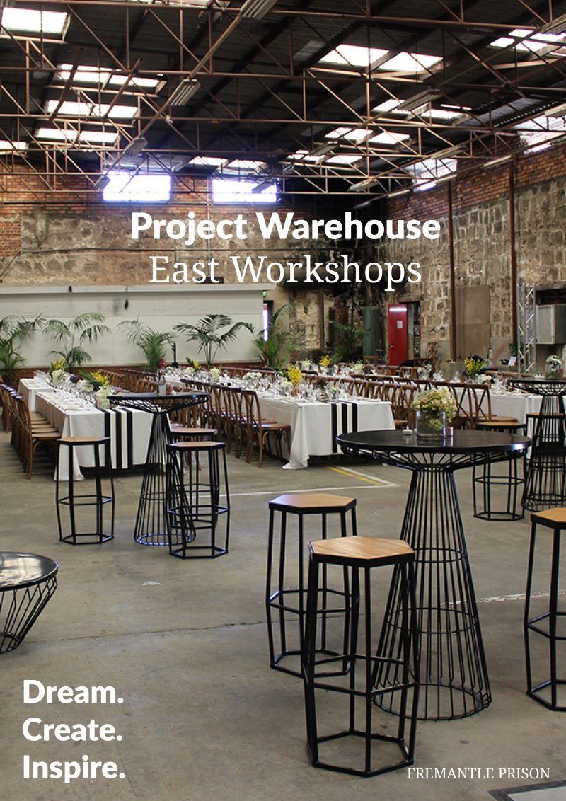 Project Warehouse Venue Packages
