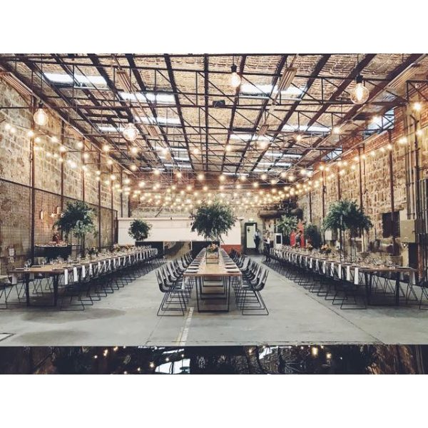 Warehouse Wedding Styling