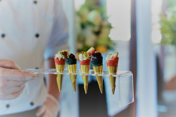 corporate party canapes