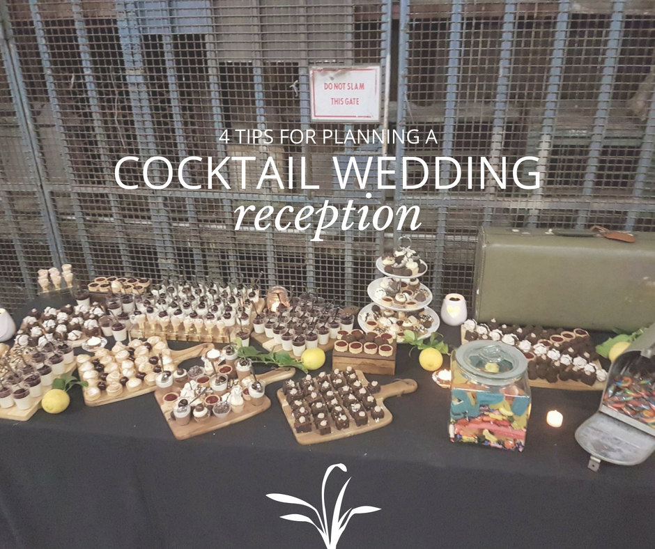 cocktail wedding tips