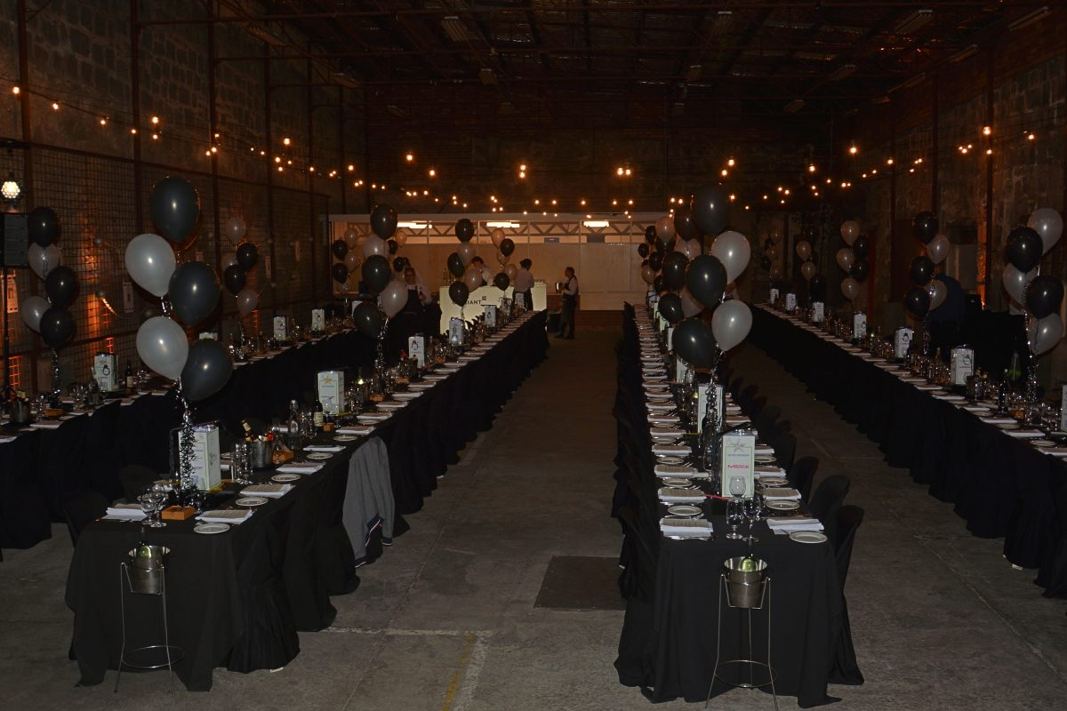 large corporate event