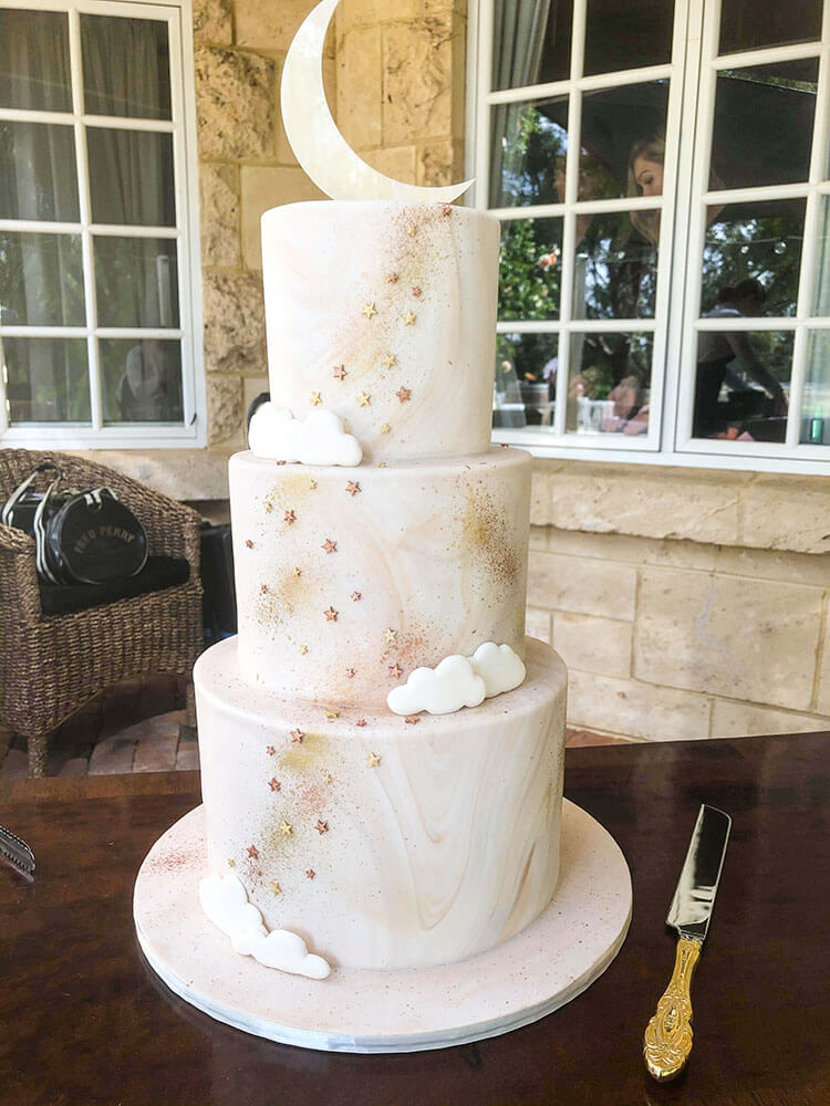 Brookleigh Estate wedding cake